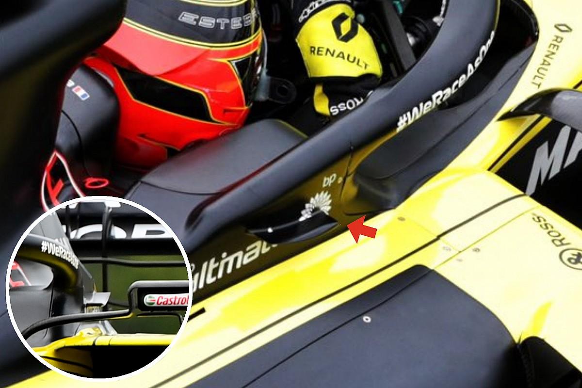 Renault: più carico con la bavetta dell'Halo