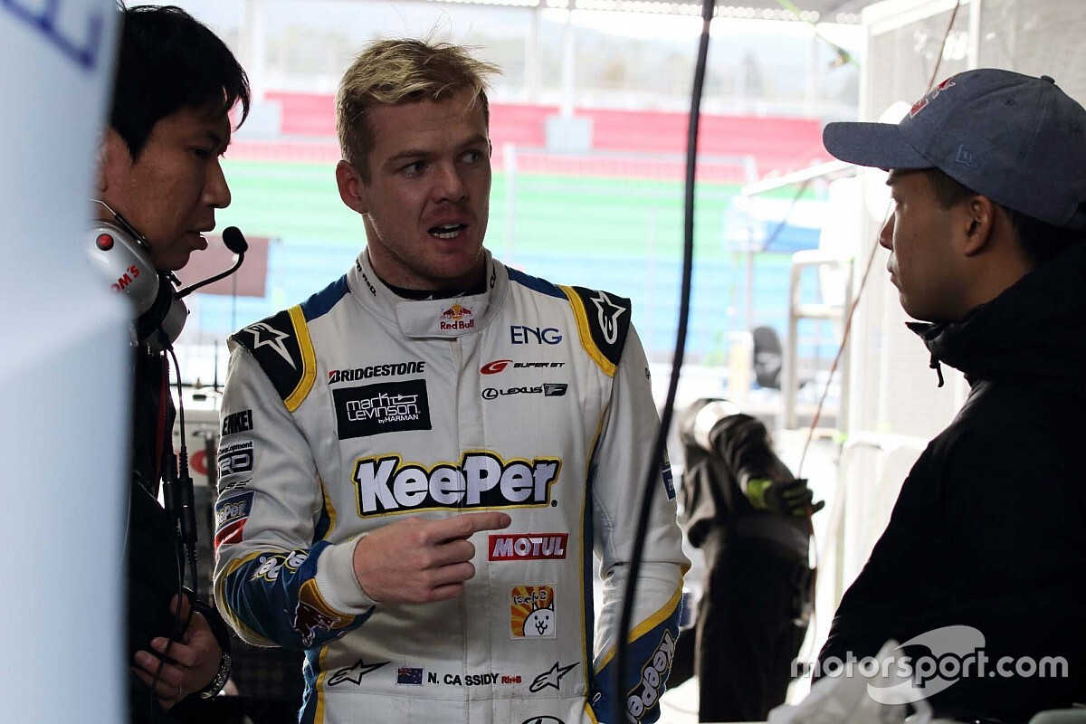 Cassidy set to miss final two Super GT races of 2020