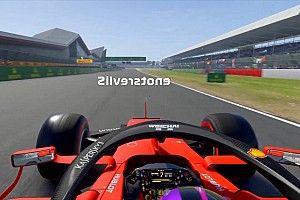 VIDEO: una vuelta a Silverstone en sentido inverso