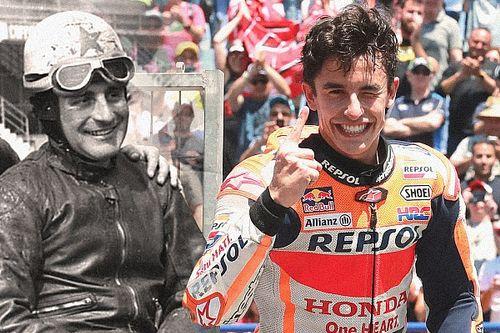 Graham/Márquez - Deux champions, deux époques
