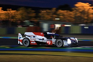 Le Mans 24h: #7 Toyota leads at halfway, Porsche top in GTE Pro