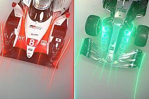 Comparación del Mercedes y Toyota, los mejores coches de F1 y WEC