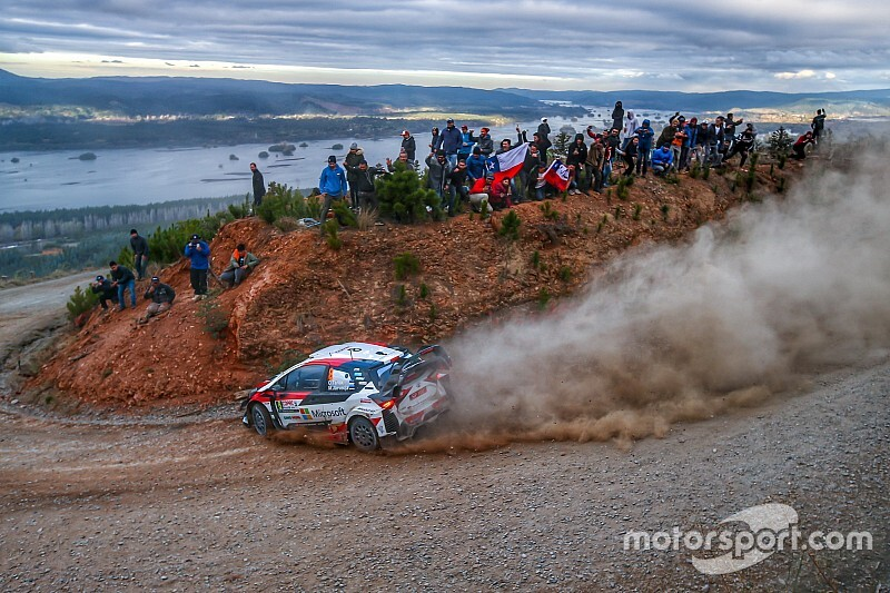 El debut del Rally de Chile, en videos