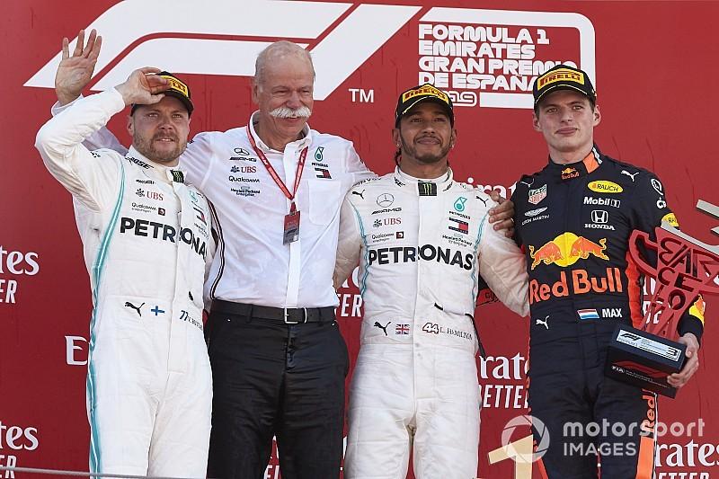 Гран Прі Іспанії: Хемілтон впевнено виграв гонку