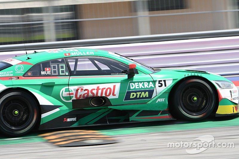 Nico Müller in stato di grazia firma la Pole Position per Gara 1 al Norisring