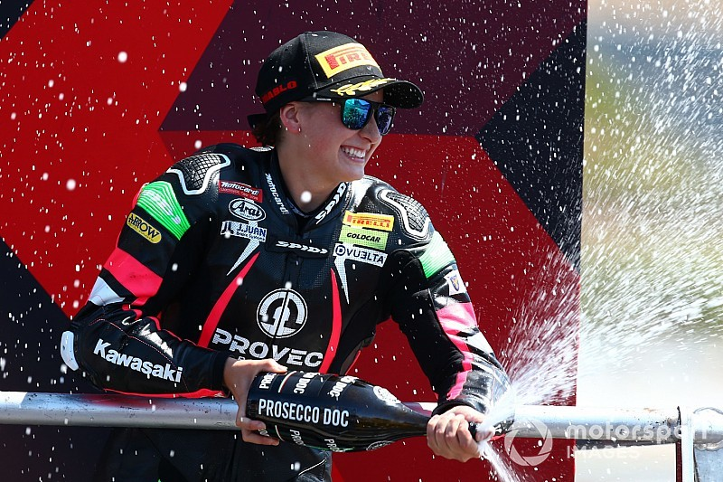 Supersport 300, Misano: Ana Carrasco torna alla vittoria