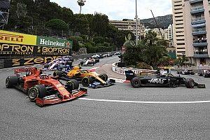 """Grosjean s'amuse de la remontée """"kamikaze"""" de Leclerc"""