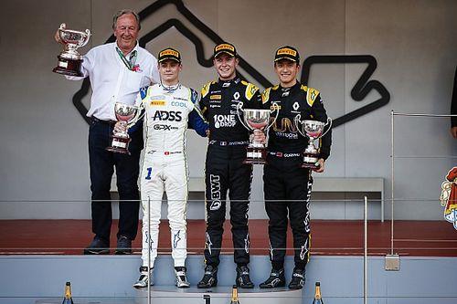 F2摩纳哥次回合:胡伯特惊险取胜,周冠宇登上领奖台