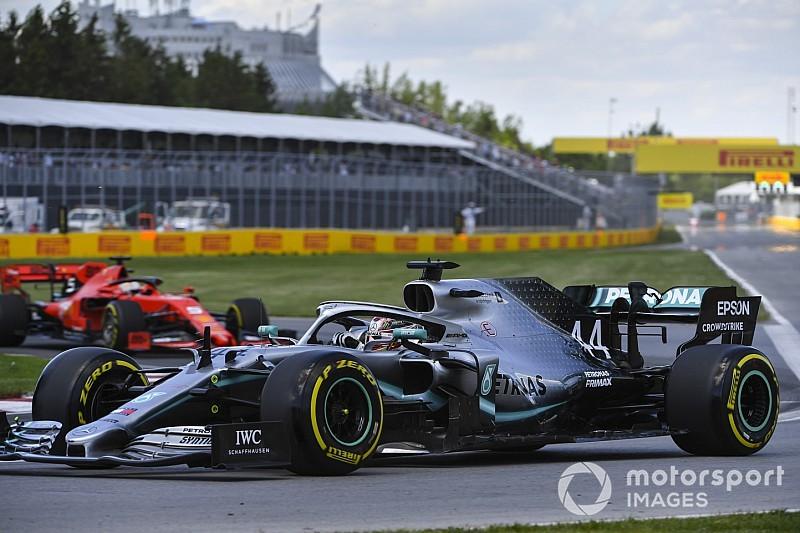 """Vettel: """"Mercedes heeft nog steeds voorsprong op Ferrari"""""""