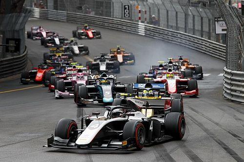 F2 Monaco: De Vries wint chaotische hoofdrace