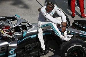Estadísticas: Hamilton, una victoria con menos vueltas lideradas