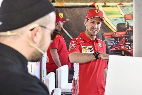 Promoted: Sebastian Vettel unveils MORT mural at Shell House