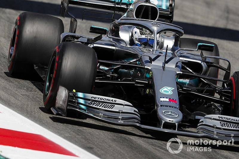 F1スペインFP2:メルセデス盤石か、ボッタス連続首位。レッドブル・ホンダはフェルスタッペン5番手