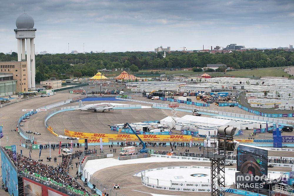 Formule E racet zes keer in negen dagen op Tempelhof