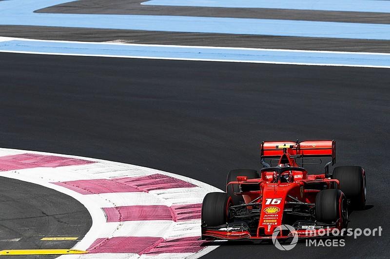 Leclerc justifica por qué pidió a Ferrari que Vettel acelerara