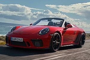 GT3 karosszériával debütált Porsche 911 Speedster