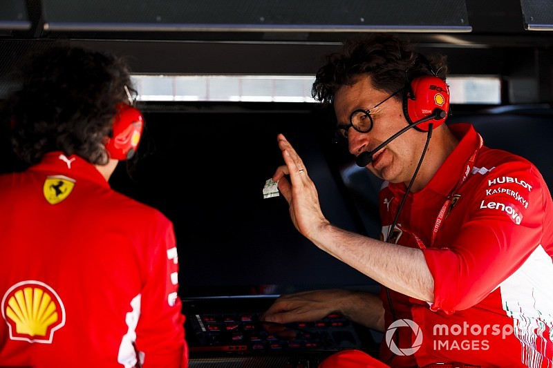 """Binotto: """"C'è un trend di crescita Ferrari, ora possiamo sperare"""""""