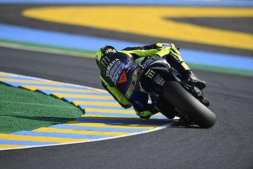 Chaîne cassée et mauvais choix: Rossi seulement 13e