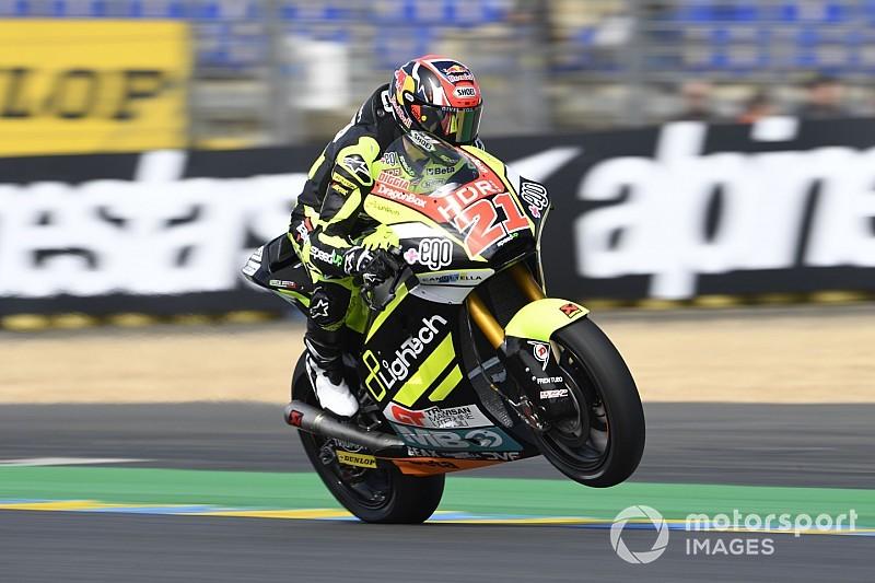 Moto2, Silverstone, Libere 1: Di Giannantonio primo con record