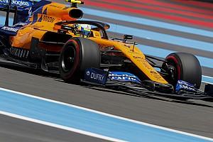 VÍDEO: Norris cai de 7º para 10º na última volta do GP da França