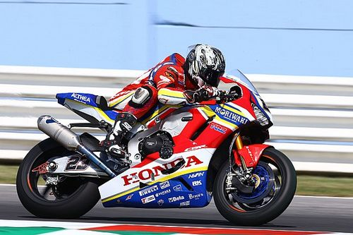 Works Honda team down to one entry for next two WSBK rounds
