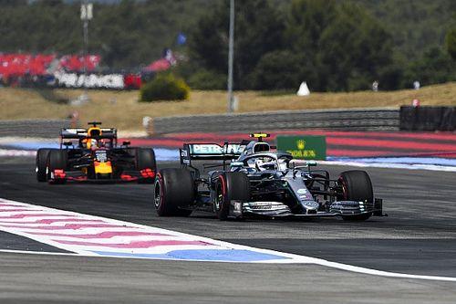 F1フランスFP2:メルセデス隙なし、ボッタス首位。レッドブルはマクラーレンがライバル?