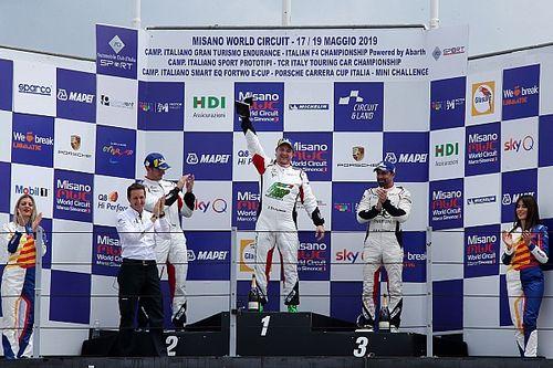 Carrera Cup Italia, Cassarà e De Giacomi all'attacco di Mardini in Michelin Cup