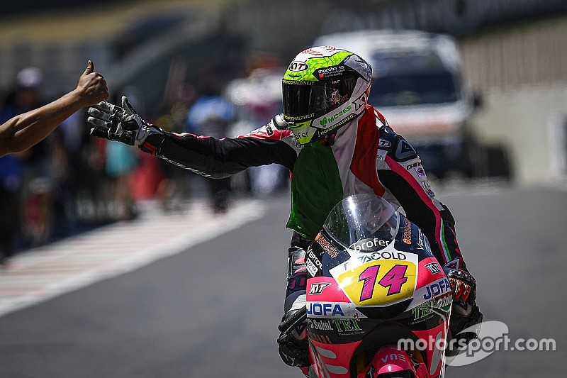Moto3 Italia: Arbolino menang perdana, Gerry finis ke-16