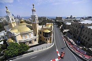 Vettel és a pénteki nap képekben Bakuból: FP1 és FP2