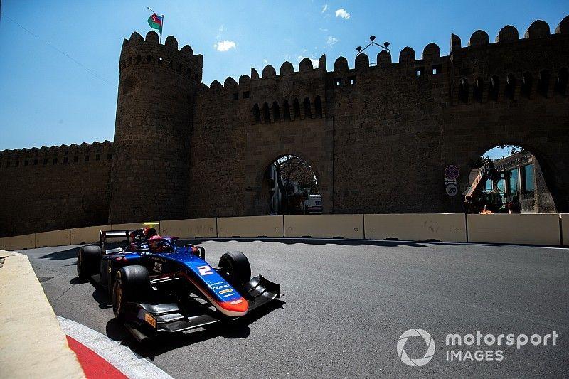 Baku F2: Matsushita dominates red-flagged qualifying