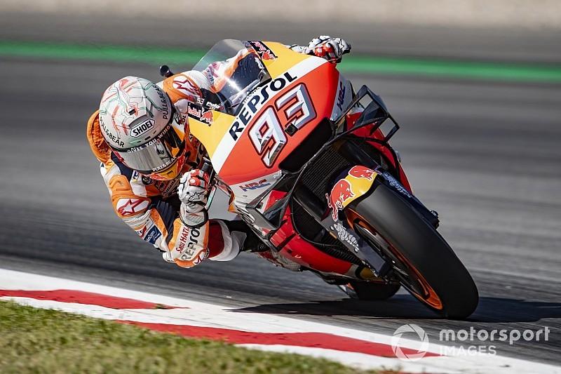 MotoGP, Barcellona: Lorenzo fa strike con i big, tutto facile per Marquez