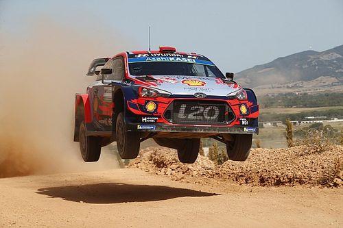 WRC: Dani Sordo chiude in testa la prima tappa del Rally Italia Sardegna
