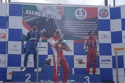 Gianluca Petecof vence corrida de abertura da temporada 2019 da F4 Italiana