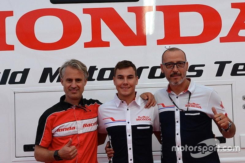 Valentin Guillod passa al Team Honda RedMoto nel 2017