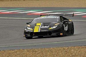 Il team Antonelli Motorsport a Barcellona con due Lamborghini