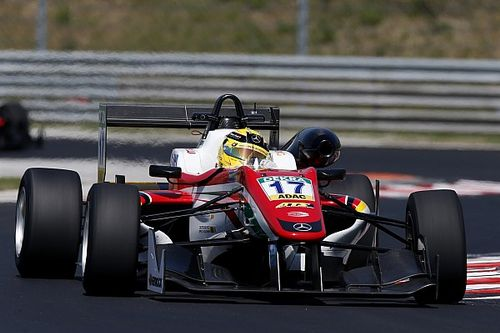 Hungaroring F3: Gunther completes pole hat-trick