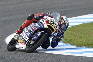 Le Mans Moto3: Antonelli beats Binder in crash-strewn qualifying