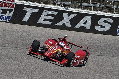 Ganassi cars dominate practice at Texas