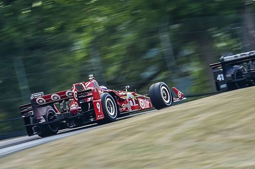 Dixon top as Mid-Ohio's unofficial lap record falls again