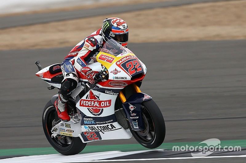 Moto2 Silverstone: Lowes kalahkan Zarco dalam perebutan pole