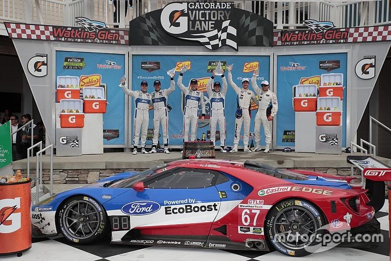 Ford GTs finish 1-2 at Watkins Glen
