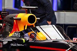 "Hulkenberg says Red Bull Aeroscreen ""more attractive"" than Halo"