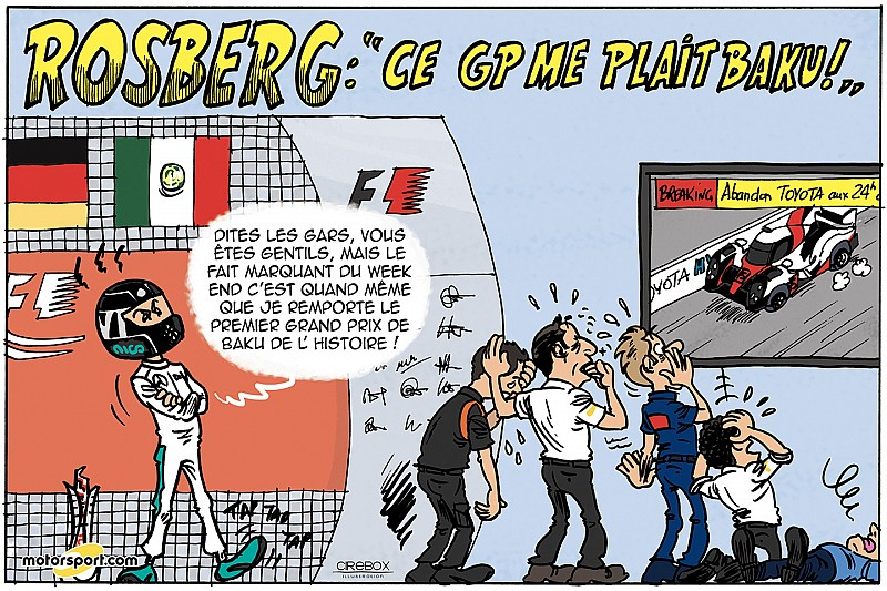 Le Grand Prix d'Europe vu par Cirebox!