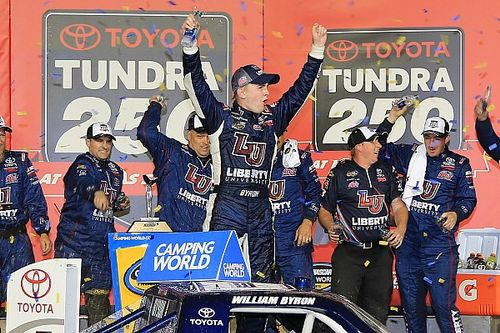 William Byron snags first win as leaders crash on final lap