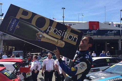 Dušan Borković conquista una grande pole position a Spa