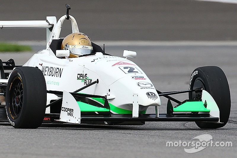 Thompson win strengthens USF2000 points lead
