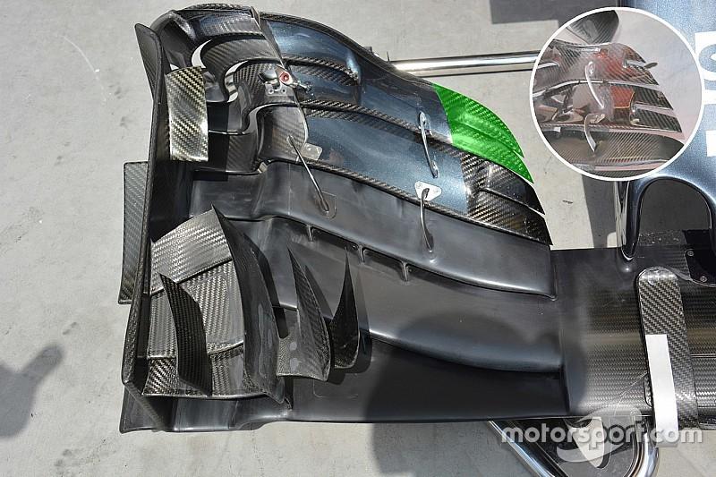 Bite-size tech: McLaren MP4-31 front wing