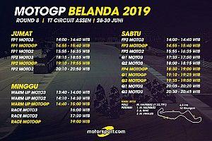 Jadwal lengkap MotoGP Belanda 2019