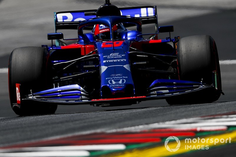 Kvyat, Toro Rosso'nun Red Bull Ring'de neden yavaş kaldığından emin değil