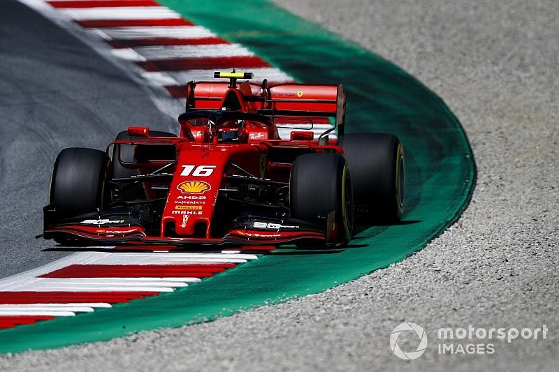Austrian GP: Leclerc beats Hamilton to pole, Vettel ninth